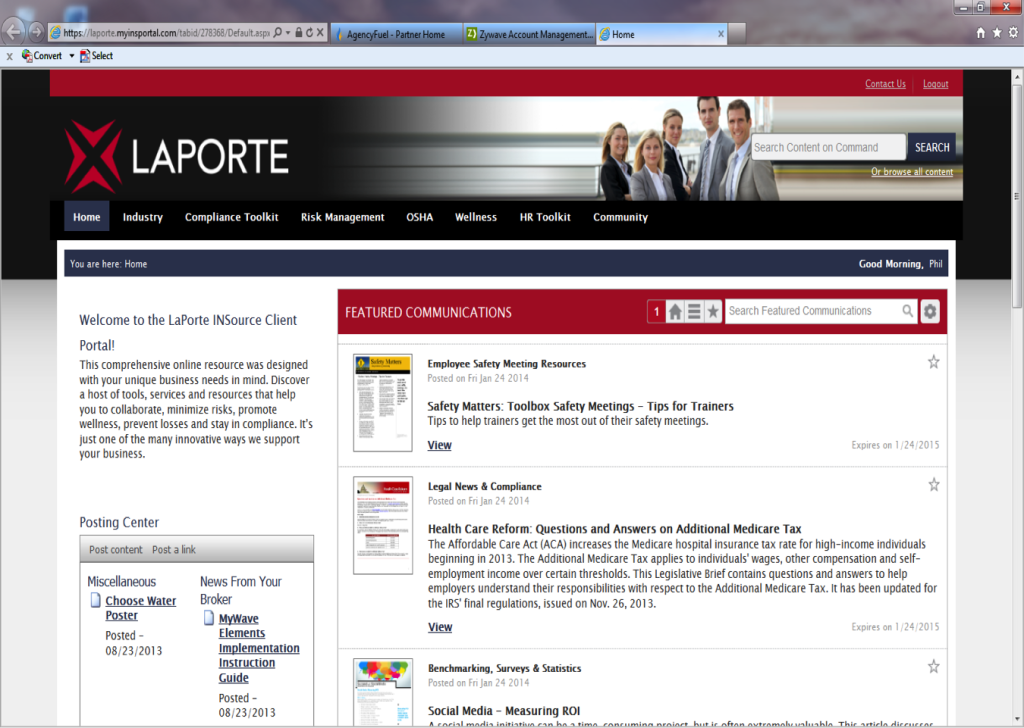 LaPorte Insurance - InSource